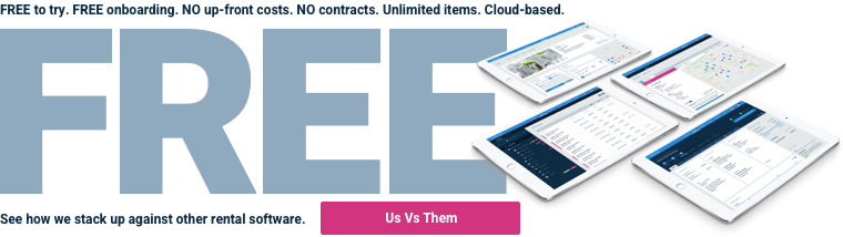 Free rental management software - how TapGoods PRO compare against other rental software