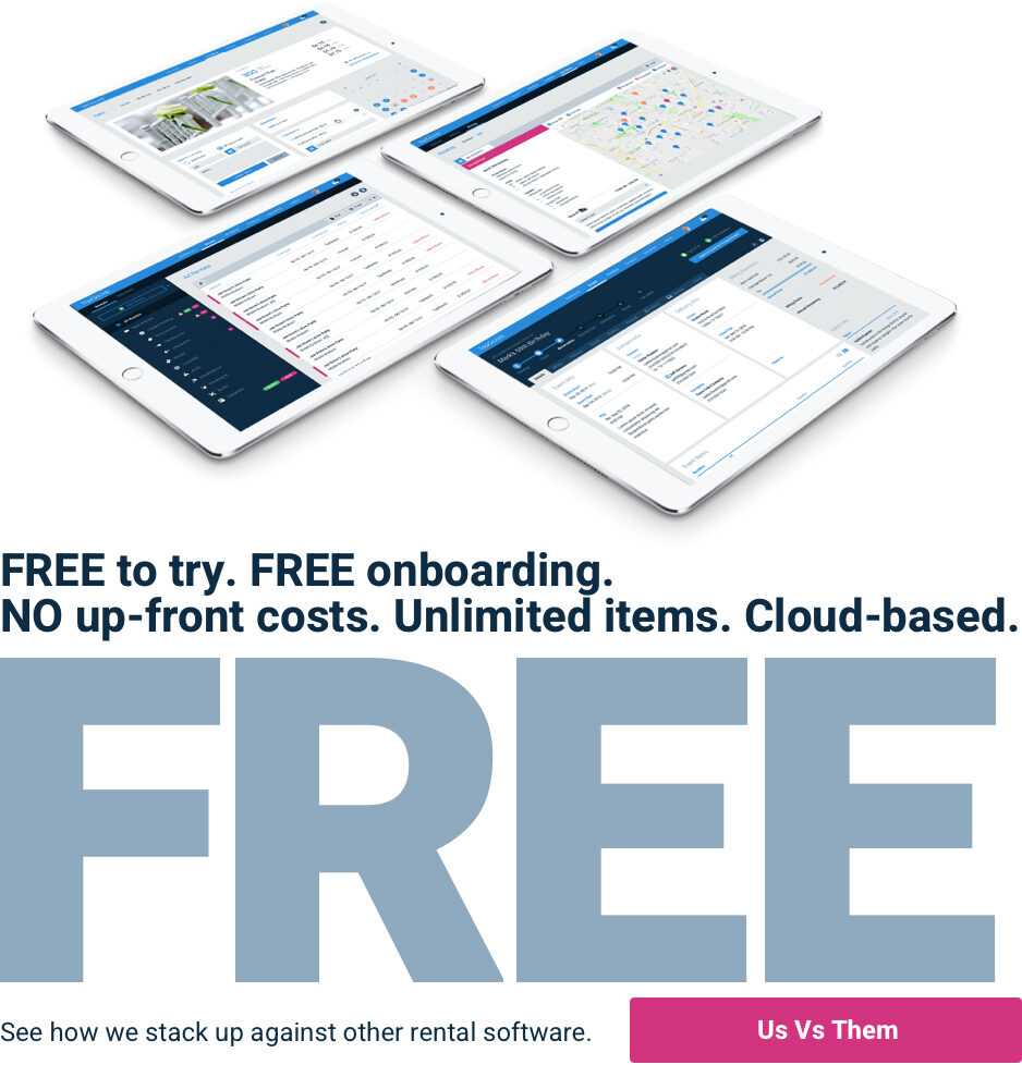Free Rental Management Software - How TapGoods PRO compares against other rental software