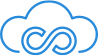 Cloud Icon Blue