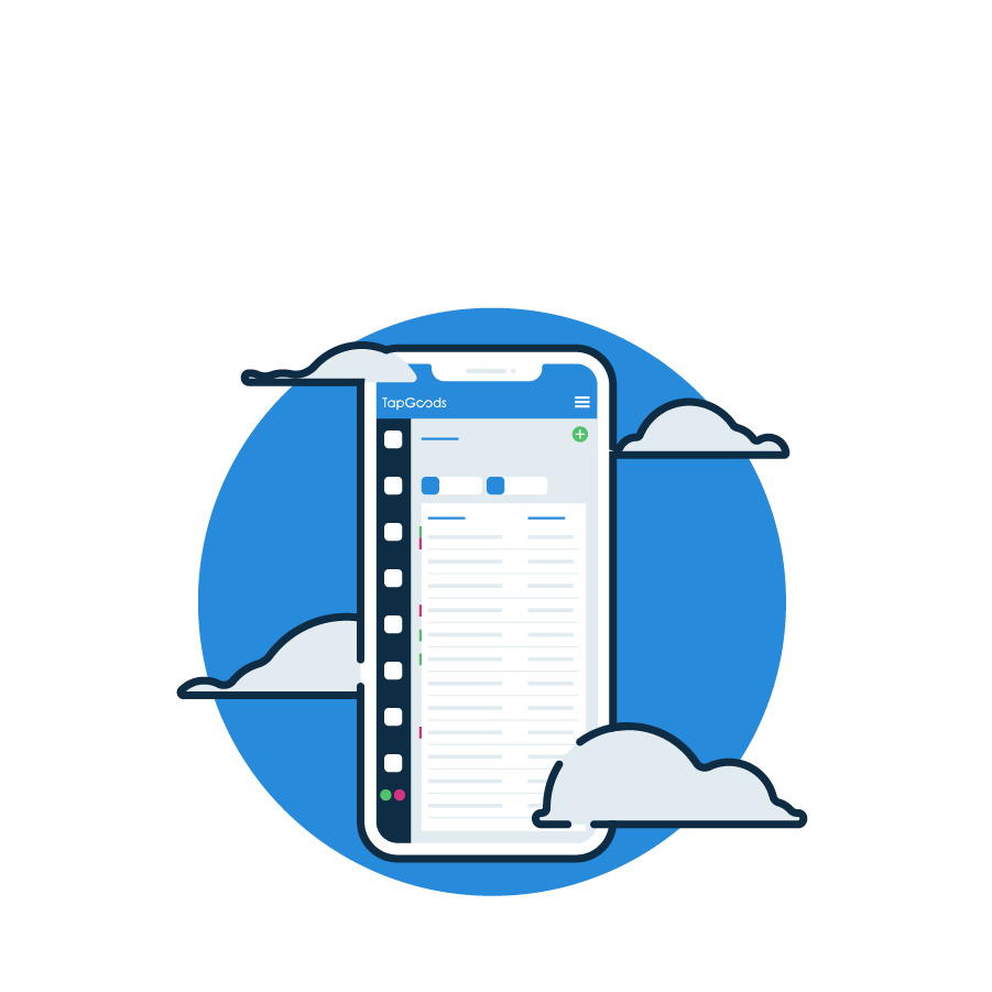 Rental Cloud System Icon