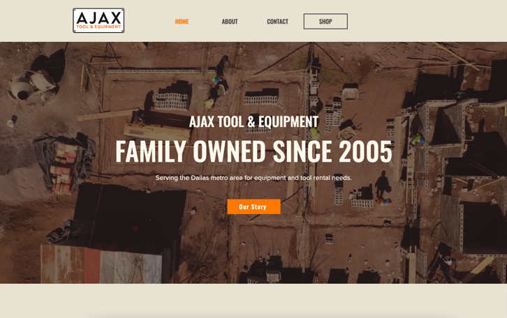 Website made in Wix